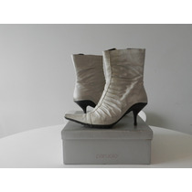 Zapatillas Zapatos Botas De Taco Mujer Marca Paruolo