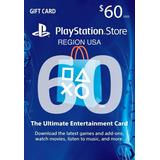 Playstation U$s 60 En 50+10 O 3 De 20 En 12 Cuotas Fijas