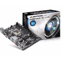 Asrock Motherboard H81m-vg4 - Socket 1150 Para Intel