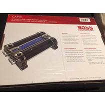 Capacitor Boss 18 Faradios Audiocar - Luz Azul