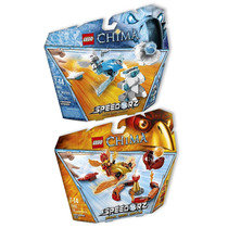 Lego Speedorz Chima Frozen Spikes Inferno Pit- Din Don