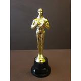 Trofeo Plástico Oscar Actuación 18 Cm Base Alta - Souvenir