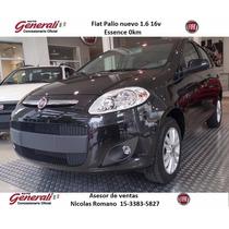 Fiat Palio Nuevo Essence 1.6 16v 0km 2016 Contado #ca1