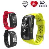 Reloj Smartband Gps Monitor Cardiaco Distancia Calorias S908