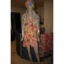 47 Street Vestido Estampado Con Flores Promo