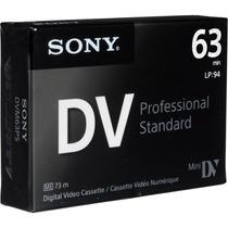 Tape Minidv Sony Standart Dvm63ps - X 100