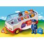 Autobus Bus Playmobil - Línea 1.2.3 Preschool - Art. 6773