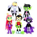 Muñecos Jovenes Titanes X 5 Teen Titans 14cm - Villa Urquiza