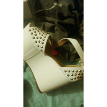 Zapatos Plataforma Anca Y Co Impecables!!! Nro 36