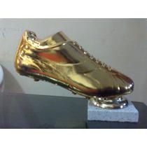 Plaquetas, Medallas, Trofeos, Souvenirs. Botines De Oro