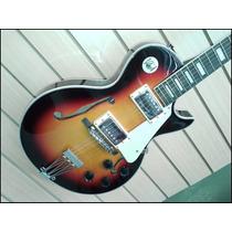 Guitarra Les Paul Prince Semi Hueca Varios Colores