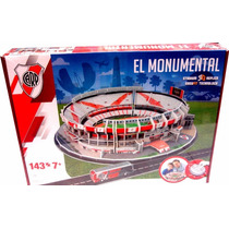 Puzzle Estadio El Monumental River - Minijuegos