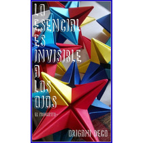Souvenir Colgante *estrellas Origami* El Principito- Packx10