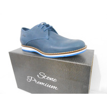 Zapato Acordonado Stone Premium, Cuero Vacuno