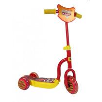 Scooter Infantil 3 Ruedas Cars Licencia Oficial