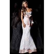 Vestido De Novia/madrina/15 Años Importado Elegante Y Único