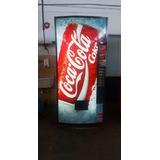 Heladera Expendedora Coca Cola Latas Y Botellas Impecable