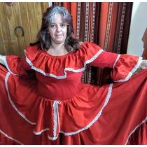 8bdf3e104 Traje Paisana Dama Pollera Plato Blusa Folklore Con Mangas en venta ...