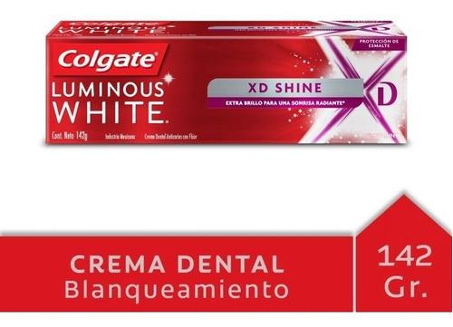 Colgate Luminous White Xd Shine 142 Gr Glow Min