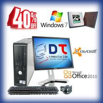Computadora Completa Lcd 17 Lista Para Navegar En Internet