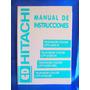 Manual De Instrucciones Cd Hitachi Televisores