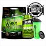 Premium Whey Protein 3k + Creatina 300grs + Vaso Star