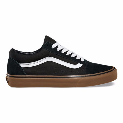 b02c110aab22 Zapatillas Vans Old Skool Black Medium Gum 36377