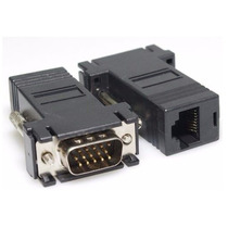Adaptador Conector Vga Macho A Rj45 Cat5e Cat6