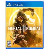 Mortal Kombat 11 Ps4 Juego Físico Castellano Latino En Stock