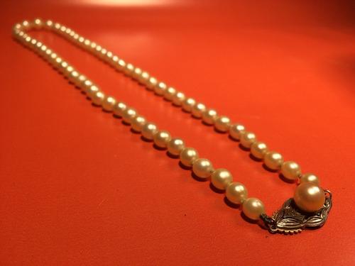 b16045f40ad5 Autentico Y Antiguo Collar De Perlas