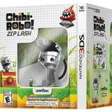Chibi-robo! Zip Lash Con Amiibo Nuevo Nintendo 3ds Dakmor