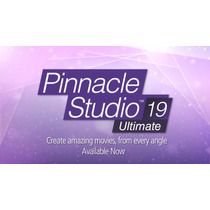 Pinnacle Studio 19 Español Ultimate Incluye Efectos 5 Dvds