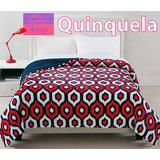 Frazada Doble Flannel Con Corderito Super Soft 1 1/2 Plazas