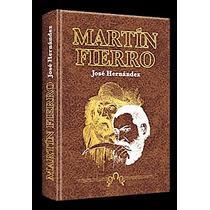 Libro Martín Fierro José Hernández Ilustrado Ed Clasa