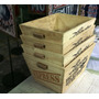 Canastos Rústicos De Fenólico, Revisteros, 30x40cm. Cajón