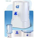 Dispenser Agua Natural P/ Bidon Botellon M10 Blanco