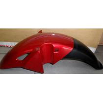Guardabarro Delantero Invicta150 Rojo Original Centro Motos