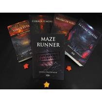Saga Maze Runner - 5 Libros - James Dashner - V & R