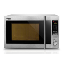 Horno Microondas Atma 30 Lts Inoxidable - Grill - Md930gxe