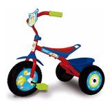 Triciclo Infantil Nene Nena Caño Reforzados Ruedas De Gomas