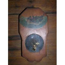 Antiguo Reloj Aleman A Reparar Pintado Unico Drcm