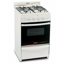 Cocina 4 Hornallas 51cm Martiri 3001 White,12 Ctas S/interes