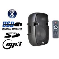 Bafle Potenciado Bam8a Activo 8 300w Usb Sd Bluetooth