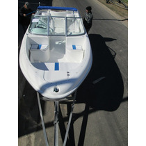 Lancha Tracker Albatros 530 Open C/mercury 60 Hp Full 2014