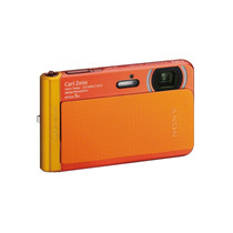 Camara Sony Tx30 Sumergible 18.2 Mp 5x Zoom Naranja Full Hd