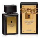 Perfume Hombre Antonio Banderas The Golden Secret Edt X100ml