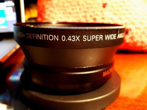 Ojo De Pez Macro Super Wide X045 A Rosca Reflex Gran Angular