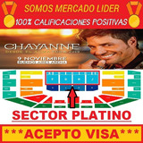 Entradas Chayanne - Buenos Aires Arena - Sector Platino C !