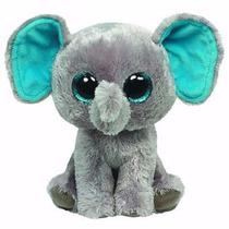 Peluche Elefante Ty Ojos Grandes 25cm De Alto Beanie Boos