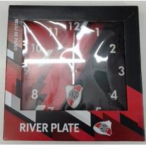 Reloj Pared Cuadro Futbol River Plate